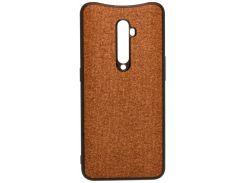 Чохол Milkin for Oppo Reno2 - Creative Fabric Phone Case Brown