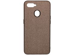 Чохол Milkin for Oppo A5s - Creative Fabric Phone Case Grey