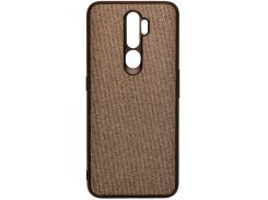 Чохол Milkin for Oppo A5 2020 - Creative Fabric Phone Case Grey