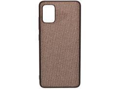 Чохол Milkin for Samsung A51 A515 2020 - Creative Fabric Phone Case Grey