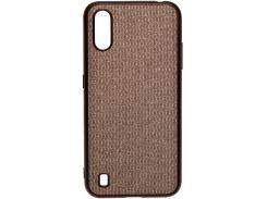 Чохол Milkin for Samsung A01 A015 2020 - Creative Fabric Phone Case Gray