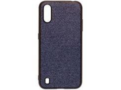 Чохол Milkin for Samsung A01 A015 2020 - Creative Fabric Phone Case Blue