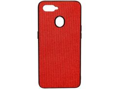 Чохол Milkin for Oppo A5s - Creative Fabric Phone Case Red  (MC-FC-OA5S2020-RD)