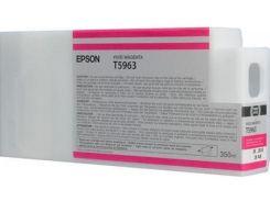 Оригінальний картридж Epson T5963 Vivid Magenta (C13T596300)