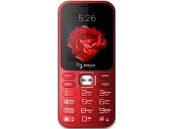 Мобільний телефон SIGMA X-Style 32 Boombox Red