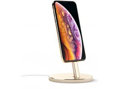 Док-станція Satechi Aluminum Lightning Charging Stand for Apple iPhone Gold  (ST-AIPDG)