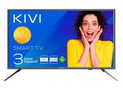 Телевізор LED Kivi 24H600GU (Android TV, Wi-Fi, 1366x768) Gray
