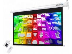 Проекційний екран Walfix TLS-11 2.95x1.65м, настінний/стельовий моторизований