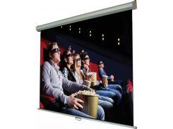 Проекційний екран Walfix SNM-6 1.86x1.05м, настінний/стельовий з механізмом повернення