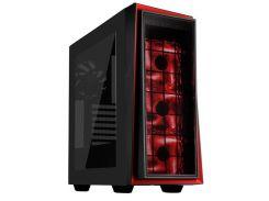 Корпус SILVER STONE Line RL06-PRO Black/Red with window  (SST-RL06BR-PRO)