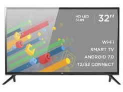 Телевізор LED Ergo 32DH5502A VA (Android TV, Wi-Fi, 1366x768)