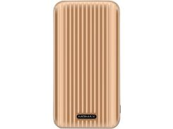 Батарея універсальна Momax iPower GO Slim 10000mAh Gold  (IP56L)