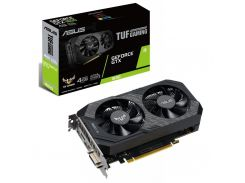 Відеокарта ASUS GTX 1650 Tuf Gaming OC Edition (TUF-GTX1650-O4GD6-GAMING)