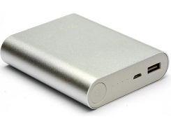 Батарея універсальна PowerPlant PPLA9113 10400mAh Silver