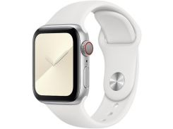 Ремінець HiC for Apple Watch 38/40mm - Silicone Case White