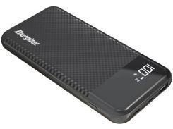 Батарея універсальна ENERGIZER UE10037PQ 10000mAh Black  (UE10037PQ (B))