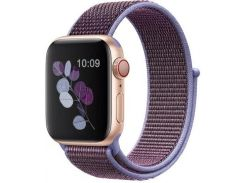 Ремінець HiC for Apple Watch 38/40mm - Sport Loop Light Violet