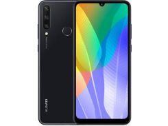 Смартфон Huawei Y6p 3/64GB Midnight Black  ( 51095KYP)