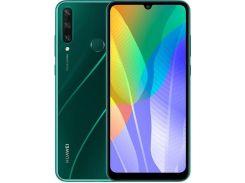Смартфон Huawei Y6p 3/64GB Emerald Green  ( 51095KYR)