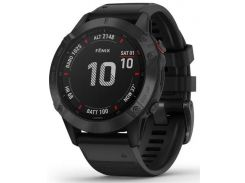 Смарт годинник Garmin Fenix 6 Pro Black with Black Band  (010-02158-02/01)