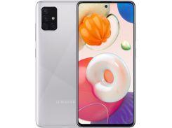 Смартфон Samsung Galaxy A51 A515 4/64GB Metallic Silver  (SM-A515FMSUSEK)