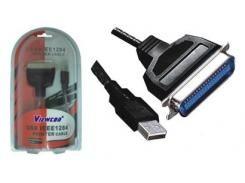 Конвертер Viewcon VEN12 USB -> LPT