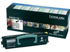 Картридж Lexmark X203/X204 Black
