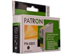 Картридж PATRON Epson T0801 Black