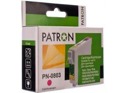 Картридж PATRON Epson T0803 малиновий