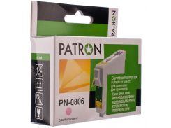 Картридж PATRON Epson T0806 світло-малиновий