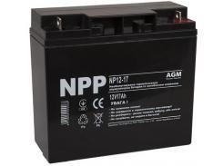 Батарея для ПБЖ NPP NP12-17