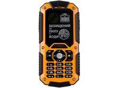 Мобільний телефон SIGMA X-treme IT67 Orange