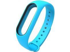 Ремінець для фітнес браслету Xiaomi Mi Band 2 Blue