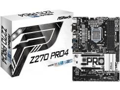 Материнська плата AsRock Z270 Pro4