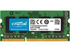 Пам'ять для ноутбука Micron Crucial DDR3L 1х16 ГБ (CT204864BF160B)