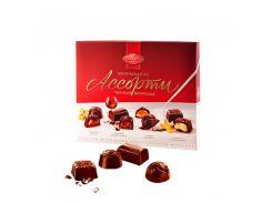 Конфеты АВК Шоколадное Ассорти черный шоколад 200г (8)