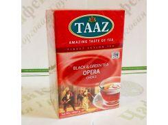 Чай TAAZ Opera Опера черный и зеленый 100г Картон (24)