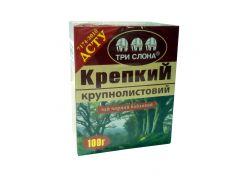 Чай Три слона Крепкий черн. 100г (21)