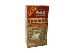 Чай Три слона Крепкий черн. 20*1,5г б/н (36)