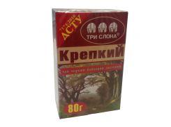 Чай Три слона Крепкий черн. 80г (54)