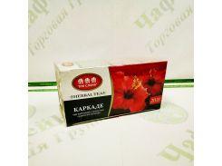Чай Три слона Каркаде 1,5г*20 б/н (36)