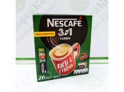 Кофе Nescafe 3 в 1 Turbo Турбо 20*16г (24)