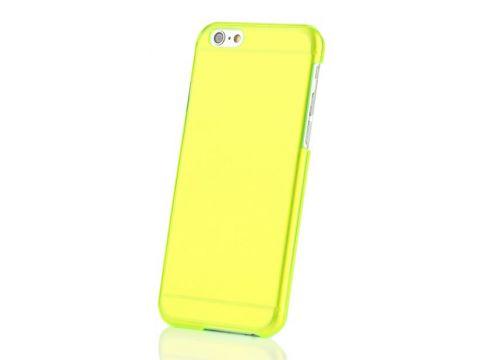 Пластиковая накладка EGGO для iPhone 6/6S - Yellow Green Одесса