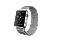 Apple Watch 42mm Stainless Steel Case with Milanese Loop (MJ3Y2)