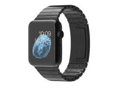 Apple Watch 42mm Space Black Case with Space Black Stainless Steel Link Bracelet (MJ482)