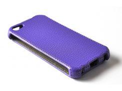 Чехол EGGO Flipcover для iPhone 5/5S (фиолетовый)