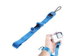 Крепление EGGO на руку Quick Release Cuff Wrist Strap Band for GoPro Hero 4/3+/3/2/1 - Blue