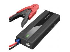 RAVPower Car Jump Starter 1000A Peak Current Quick Charge 3.0 12V 14000mAh Black (RP-PB063)
