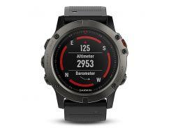 Garmin fenix 5X Sapphire Edition Multi-Sport Training GPS Watch (Slate Gray, Metal Band) (010-01733-04)
