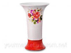 IMF0078-1825D, Ваза для цветов Розалинда 21,5 см белая